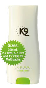 K9 Competition Aloe Vera Conditioner